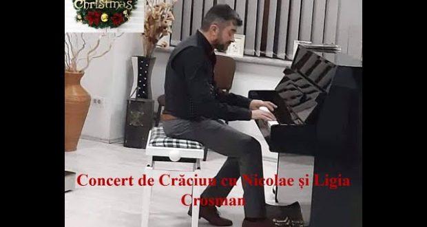 BBIM – Concert de crăciun cu Nicolae Crosman
